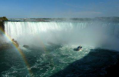 My postcard from Niagara Falls, ON