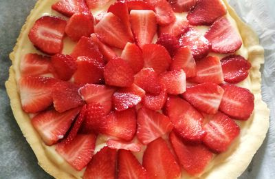 Au passage : Strawberry pie, slurp !