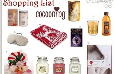 Shopping List ♡ Cocooning