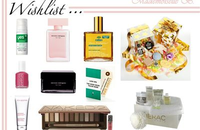 Wishlist ❤ Beauté