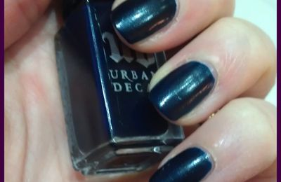 URBAN DECAY - Bluesky blonde et son NA