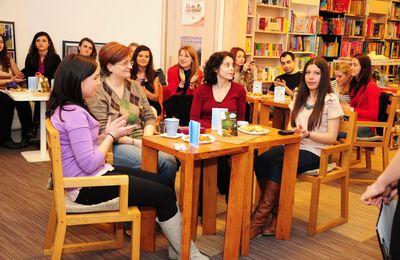 deuxième café littéraire pour Echos francophones. Photos