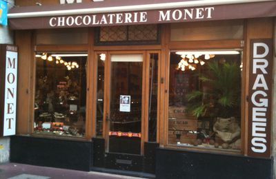 Création du blog de la Chocolaterie Monet à Bourg-En-Bresse