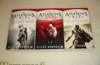 (Romans) ASSASSIN'S CREED TOME 1,2 et 3