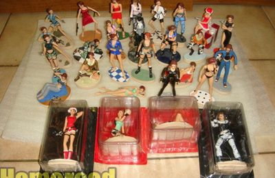 (Tomb Raider) mes figurines Tomb Raider