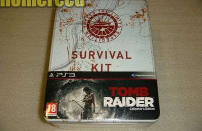 (déballage) Tomb Raider PS3 édition collector deluxe