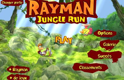 (iPad) Test Rayman Jungle Run