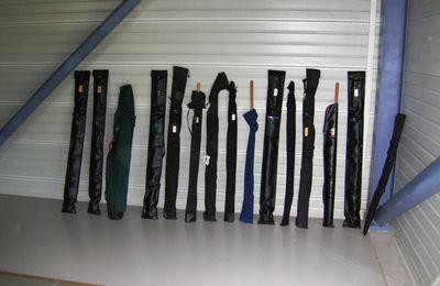 Disposition des Armes d'aïkido
