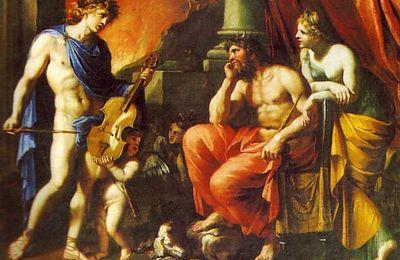 Orphée devant Pluton et Proserpine de François PERRIER