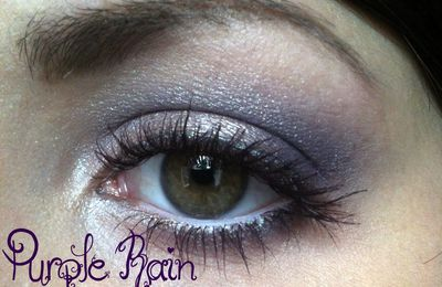 [Makeup] Purple Rain