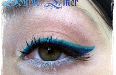 [Makeup Week] Blue Graphic'