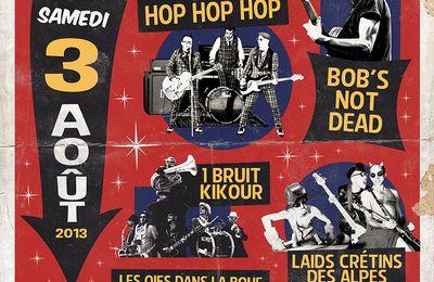 Affiche / Flyer Festival Bédéch'en'rock 2013