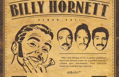 Pochette Billy Hornett : Shave your moustache