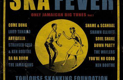Pochette album Ska-fever