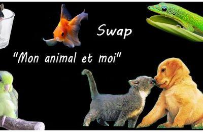 """Déballage du swap """"mon animal et moi"""""""
