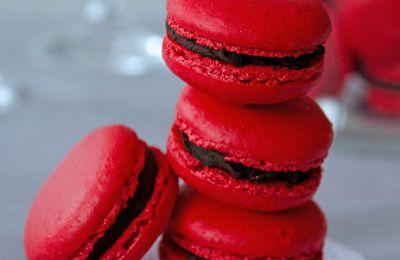 Macaron Choco-Framboise