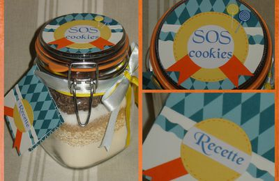 SOS cookies : en bleu, jaune et orange