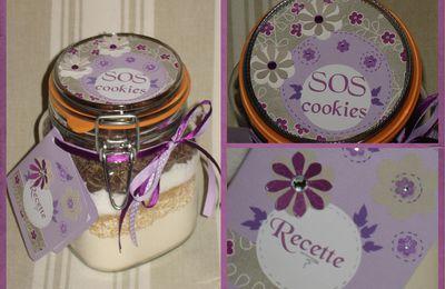 SOS cookies : en violet et gris