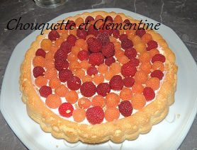 GATEAU LEGER AUX FRAMBOISES TUPPERWARE