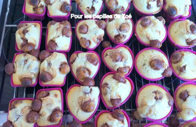 Muffins aux Maltesers