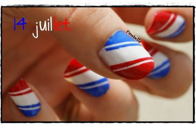 Nailstorming #13 : FÊTE NATIONALE ...