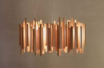 Suspension design en bois