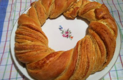 Kringle Estonien aux noisettes