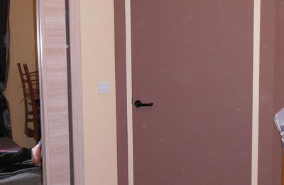 peinture sur porte (parental)