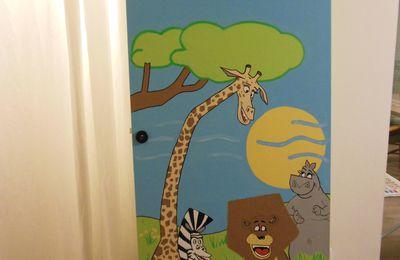 peinture sur porte (Madagascar)