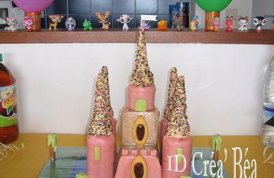 Gâteaux décorés.
