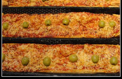 """Pizza feuilletée """"au mètre"""""""