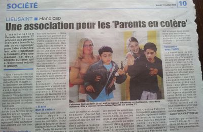 Parents en colère !