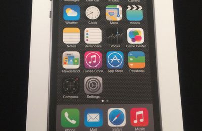 Déballage de l'iPhone 5s 16Go Space Gray
