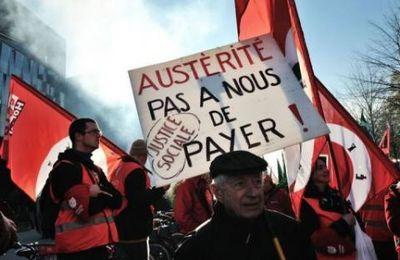 Déclaration de Myriam Martin, porte-parole de la GA. Ayrault, ça suffit ! Manifestons pour une révolution fiscale, contre l'austérité et les licenciements.