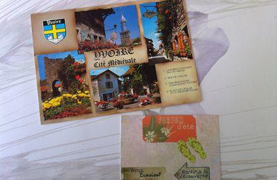 Echange carte postal + ATC (fin)