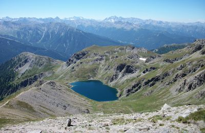 FONTS DE CERVIERES /MALRIF /LAC GRAND LAUS