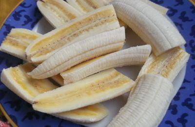 bananes croustillantes aux amandes..