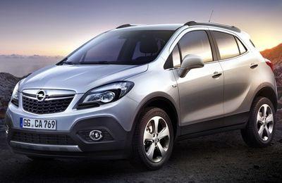 Le nouveau Opel Mokka