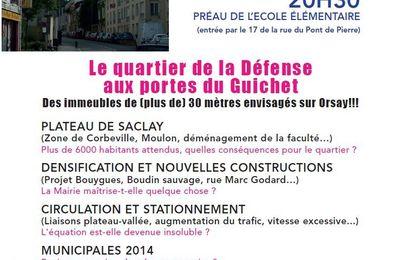 Réunion de quartier au Guichet - Vendredi 14 juin - 20h30