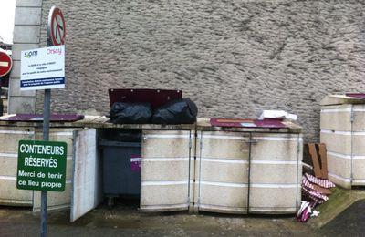 Orsay sous les déchets