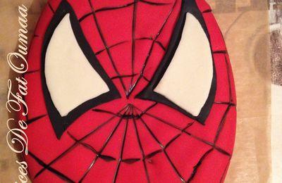 Gâteau 3D Spider Man
