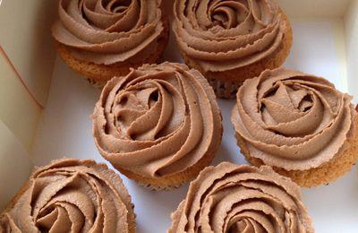 Cupcakes Topping Creme mascarpone Nutella
