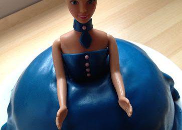 Gâteau Barbie 3D Deco Pâte a sucre.