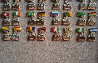 Pins World Cup USA Coca-Cola