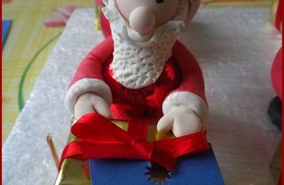Père Noël marque place