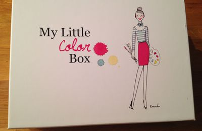 My little color box : un peu de couleurs en ce mois d'octobre