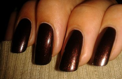 Kiko 374 Pearly Chocolate Noir et water Decals