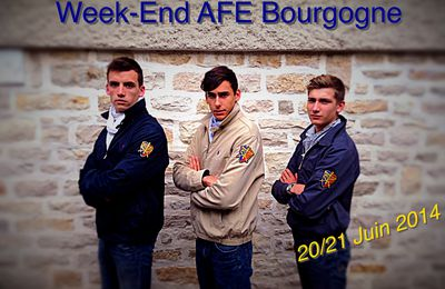 Week-end AFE bourgogne !!!