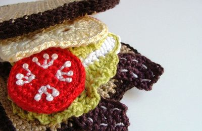 Sandwich bar au crOchet !