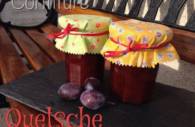Confiture de Quetches ou prunes de Damas